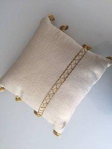Úžitkový textil - Exkluzívne vankúše zo 100% vlny - 11247683_