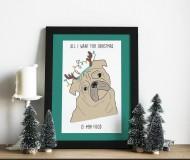 Grafika - All i want for christmas... - 11248279_