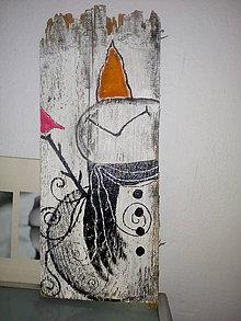 Dekorácie - drevený obrázok - 11250028_