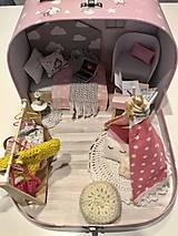 Hračky - Čarovný kufrík s myškou a teepee - 11248390_