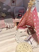 Hračky - Čarovný kufrík s myškou a teepee - 11248398_