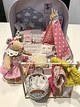 Hračky - Čarovný kufrík s myškou a teepee - 11248400_