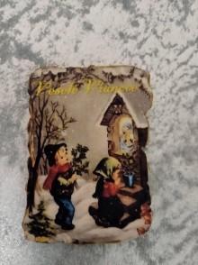 Magnetky - vianočné želanie - 11252843_