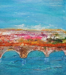"Obrazy - Arttexový obraz ""Za mostom"" - 11250547_"