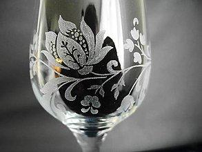 Nádoby - Gravírovaný pohár exklusiv - 11252464_