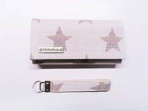 Peňaženky - Priehradková peňaženka Yaro Stars Random + kľúčenka grátis - 11253777_