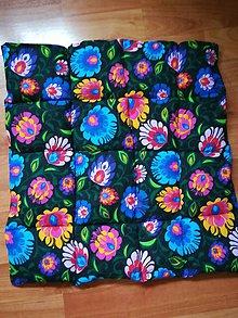 Úžitkový textil - Folk podsedák - 11250470_