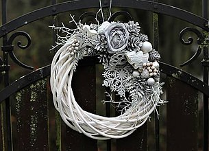 Dekorácie - Vianočný venček - 11252302_