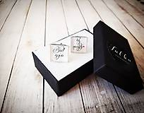 Šperky - Manžetové gombíky - 11254055_