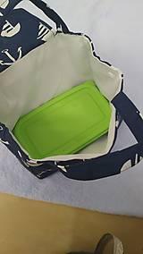 Iné tašky - Zero waste - obedová taška - 11253712_