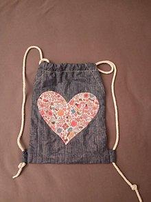 Iné tašky - batôžtek (34cm x 27cm - Bordová) - 11254256_