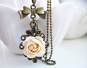 Náhrdelníky - Vzpomínka, náhrdelník - 11253579_