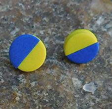 Náušnice - napichovačky pastelky - 11252032_