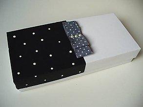 Krabičky - krabička s mašľou - 11252309_