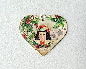 Obrázky - Drevený vianočný obrázok - 11250651_