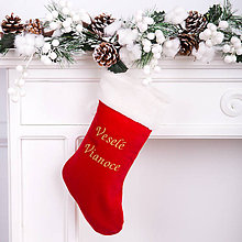 Iné doplnky - Mikulášska čižma - Vianoce1 - 11254026_