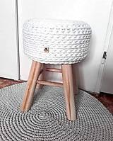 Nábytok - Dizajnová Taburetka WHITE - 11251489_