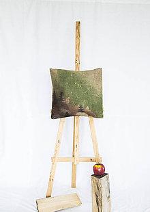 Úžitkový textil - Jutový dekoračný vankúš - Už vychádza - 11250852_
