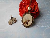 Sady šperkov - Biely púčik - 11253838_