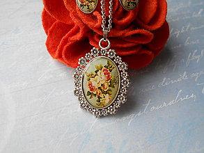 Sady šperkov - Vintage rose II. - 11253866_
