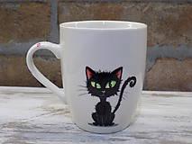 Nádoby - Hrnček - Black Cat - 11254064_