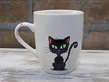 Nádoby - Hrnček - Black Cat - 11254065_