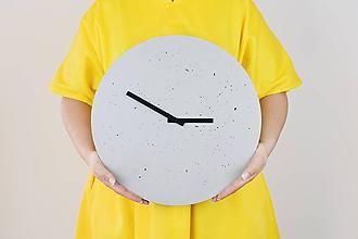 Hodiny - Betónové hodiny - PURE 40 (3) - 11250531_