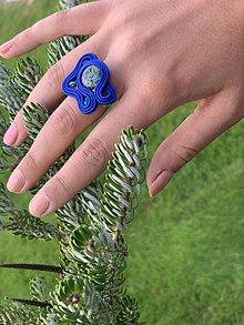 Prstene - Soutache prsteň 1 - 11251622_