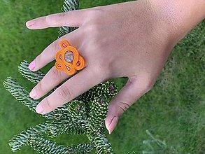 Prstene - Soutache prsteň 2 - 11251643_