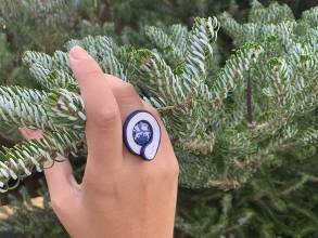Prstene - Soutache prsteň 4 - 11251682_