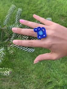 Prstene - Soutache prsteň 5 - 11251698_