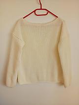 Svetre/Pulóvre - Pletený pulover - 11252281_