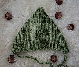 Detské čiapky - Žabiačik - 11252637_