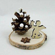 Dekorácie - HESTIA - vianočná anjelská dekorácia - 11251435_