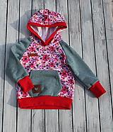 Detské oblečenie - súpravička kvietky - 11253539_