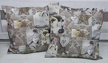 Úžitkový textil - Dekoračný vankúš zima - 11253857_