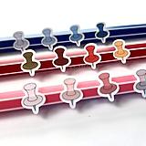 Drobnosti - Push pins (samolepky) - 11251877_