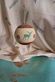 Dekorácie - Vianočná guľa - 11250714_