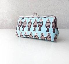 Peňaženky - Peňaženka XL Vydry - 11250762_
