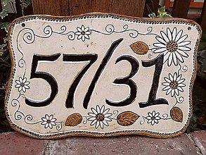 Tabuľky - Číslo domu - 11250988_