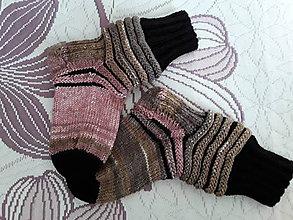 Obuv - pletené ponožky - 11256707_