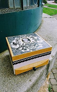 "Krabičky - Šperkovnica ""Pearls"" - 11258304_"