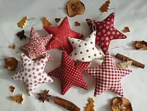 Dekorácie - Vianočné ozdoby ,hviezdy - 11255392_