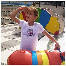Detské oblečenie - Detské tričko - OčiPuči Margarétka - 11257375_