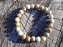 Šperky - jasper-náramok-jaspis-krajinkový- - 11258644_