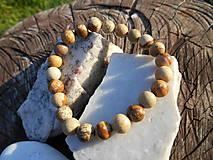 Šperky - jasper-náramok-jaspis-krajinkový- - 11258650_