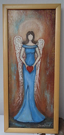 Obrazy - Anjel - posol lásky - 11255649_