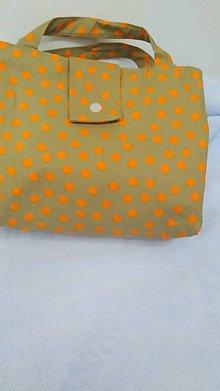 Iné tašky - Obedová taška-zero waste - 11255150_