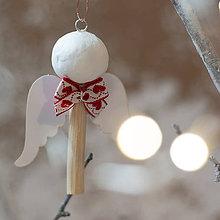 Dekorácie - Malý anjelik - 11257641_