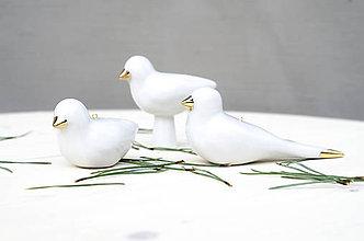 Dekorácie - vtáčik - 11255427_